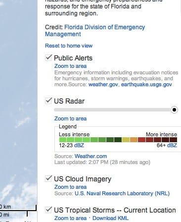 Isaac storm Florida