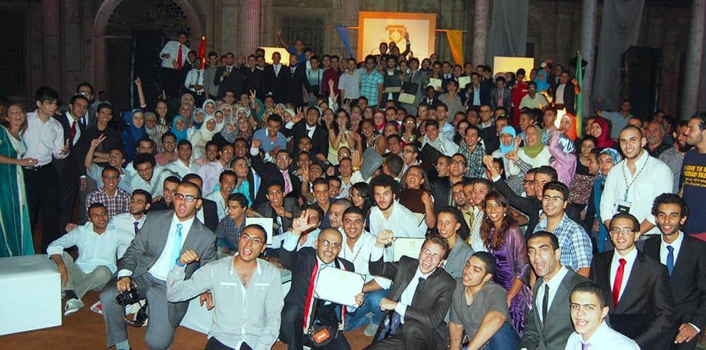 سفراء Google في الجامعات خلال حفل عشاء في القلعة بالقاهرة