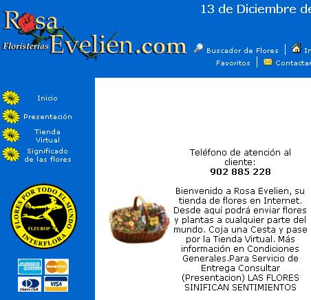 مثال على صفحة المدخل