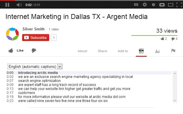 خوارزمية جوجل في استخراج النصوص من الفيديو