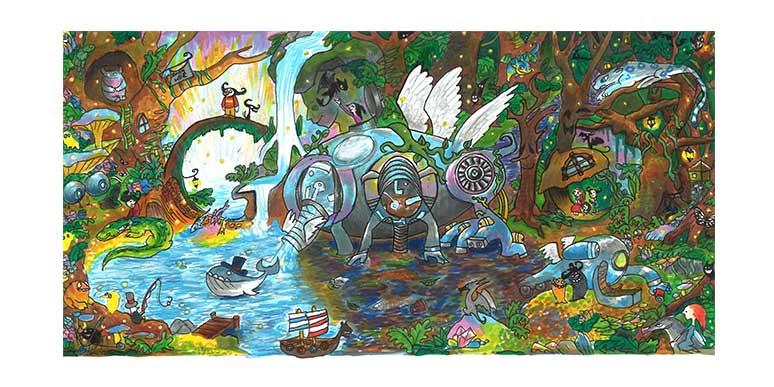 Audrey Zhang - Google Doodle