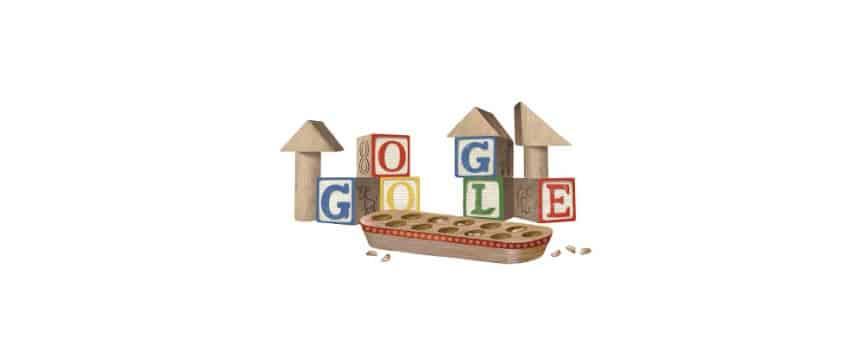 خربشات جوجل يوم الطفولة