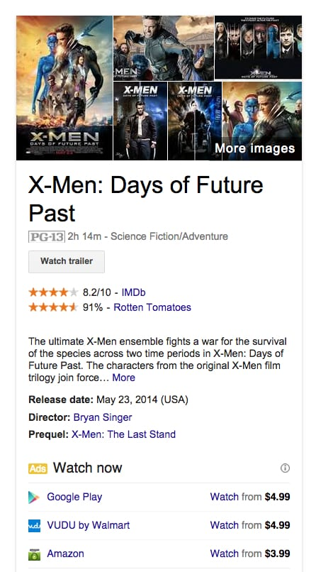 تطوير القائمة الجانبية في جوجل لعرض الأفلام والمواد المويسيقية