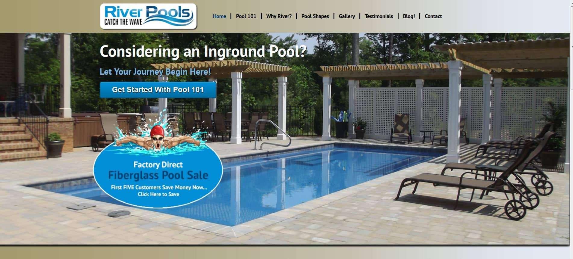 شركة River Pool للمسابح