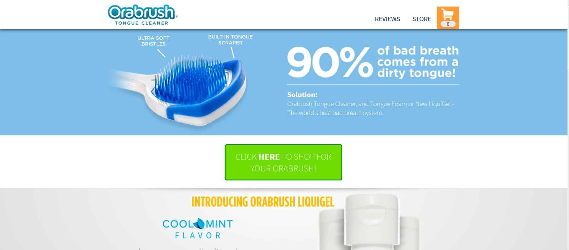 فرشاة Orabrush