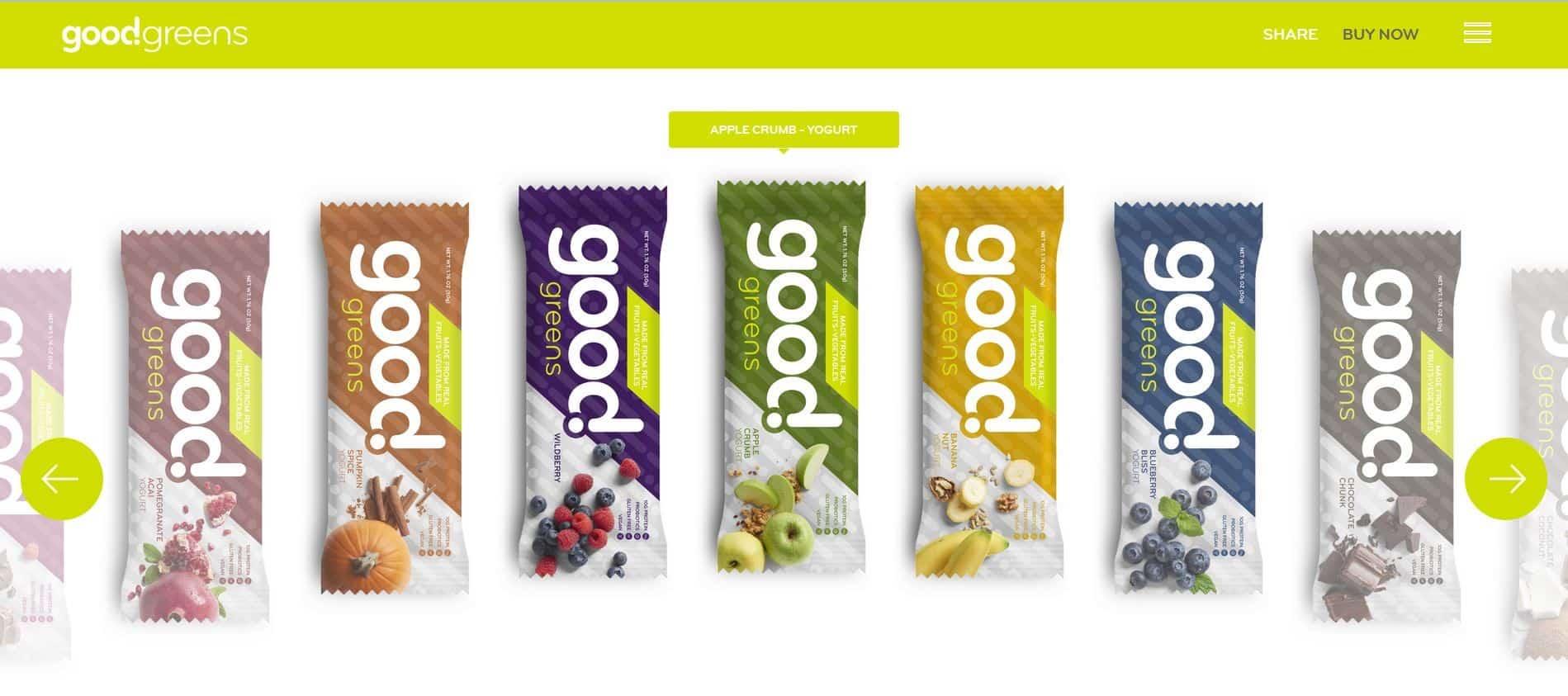 متجر Good Greens للطعام الصحي