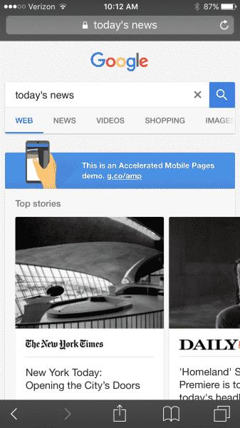 Google ampa