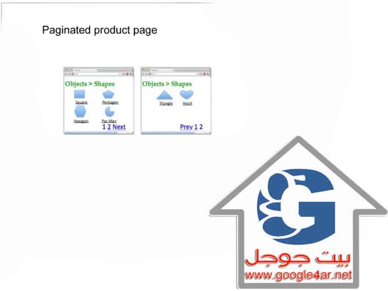 Pagination and SEO التقسيم إلى صفحات في Google