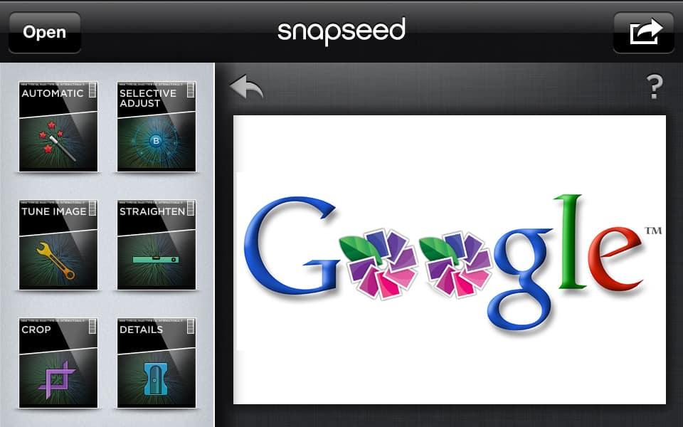 جوجل تستحوذ على الشركة المبرمجة لـ snapseed