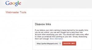 طريقة التنصل من الروابط الخلفية لموقعك Disavow Links