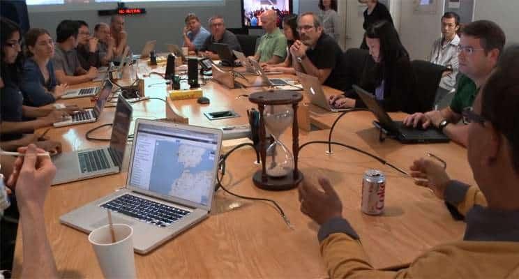 أجتماع صناعة القرار في جوجل