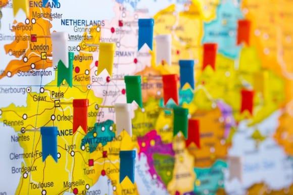تحديد البلد الموقع الجغرافي