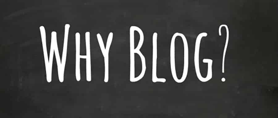 لماذا يجب احتواء الموقع على مدونة