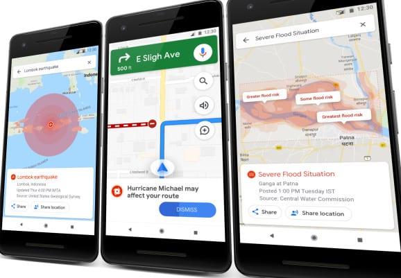 جوجل يحسن تنبيهات النجدة SOS في نتائج البحث