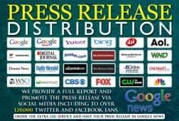 خدمات كتابة البيانات الصحفية على Fiverr تتضمن الآن خدمات أخبار جوجل المجانية