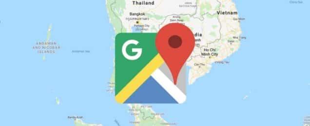 خرائط جوجل غارقة بالأماكن التجارية المزيفة