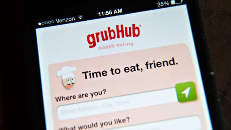 أخبار الإستحواذ على Grubhub خاطئة