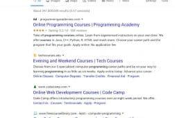 جوجل يغير مظهر نتائج البحث المجانية والمدفوعة في سطح المكتب
