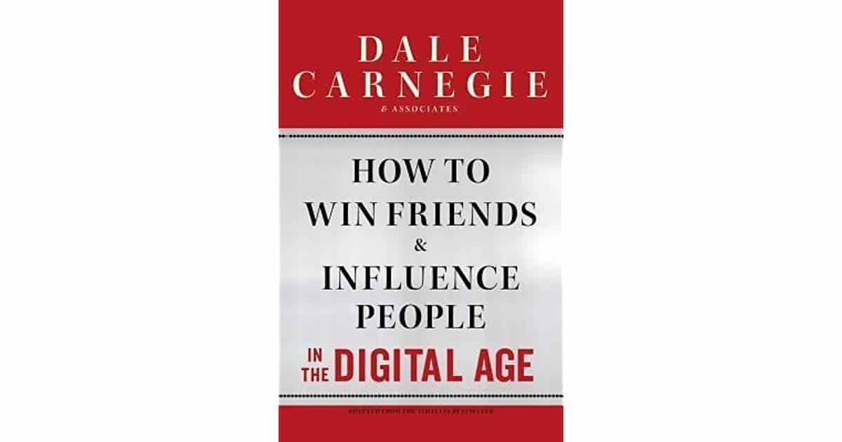 ملخص كتاب كيف تكسب الأصدقاء وتؤثر في الناس